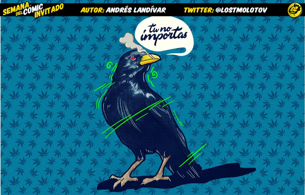 Semana del Cómic Invitado 2017: Andrés Landívar