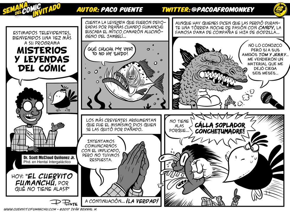 Semana del Cómic Invitado 2017: Paco Puente