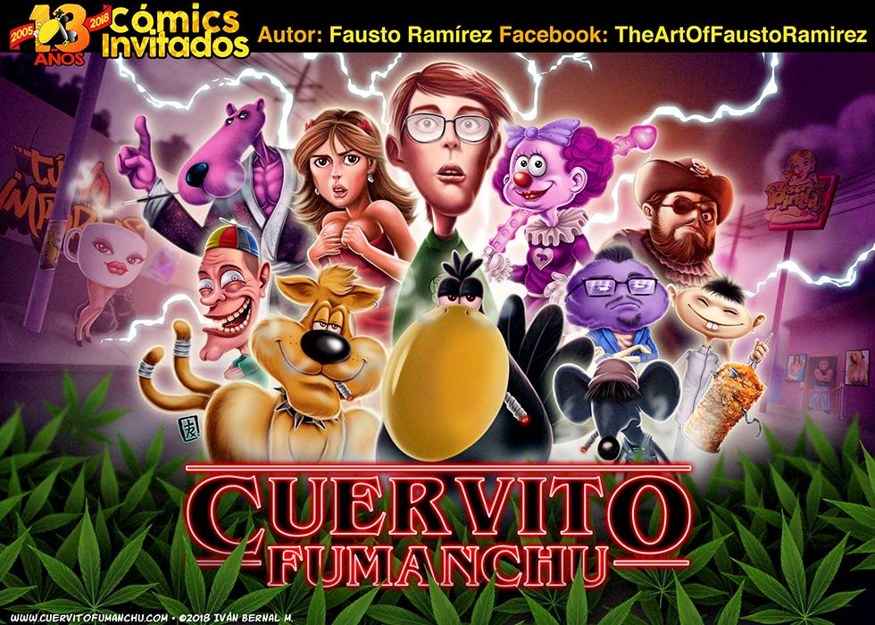 Cómic Invitado 2018: Fausto Ramirez