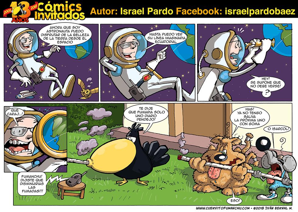 Cómic Invitado 2018: Israel Pardo