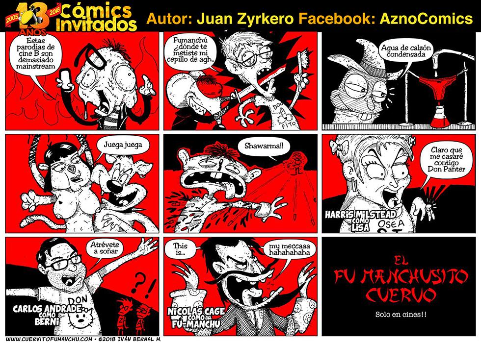 Cómic Invitado 2018: Juan Zyrkero