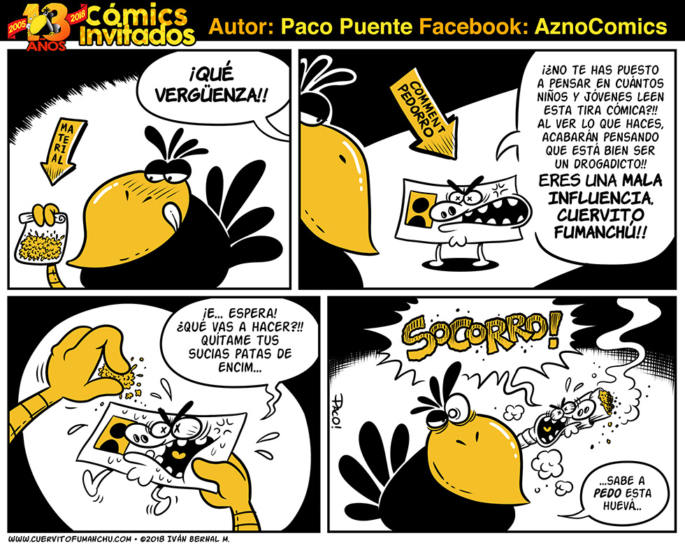 Cómic Invitado 2018: Paco Puente
