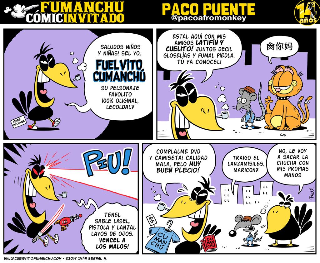 Cómic Invitado 2019: Paco Puente