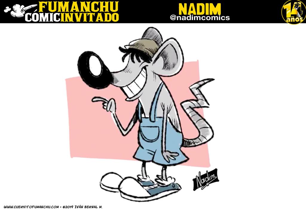 Cómic Invitado 2019: Nadim