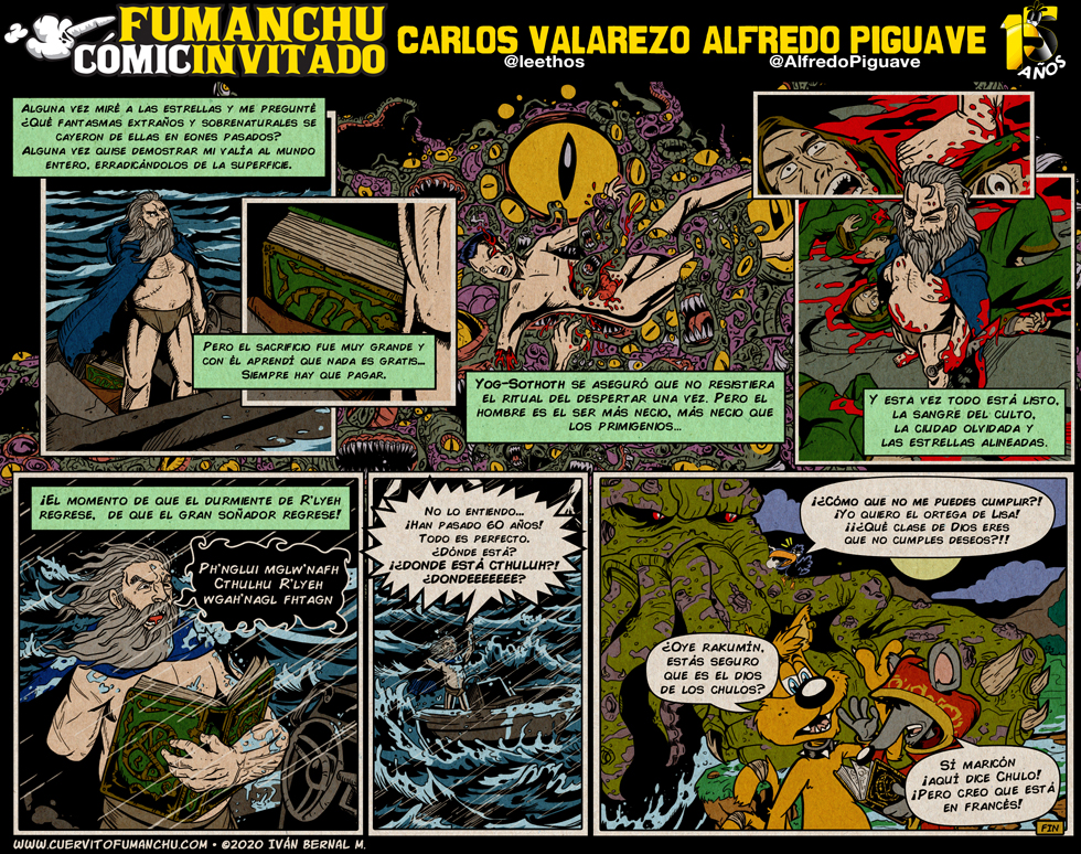 Cómic Invitado 2020: Carlitos y Alfredo
