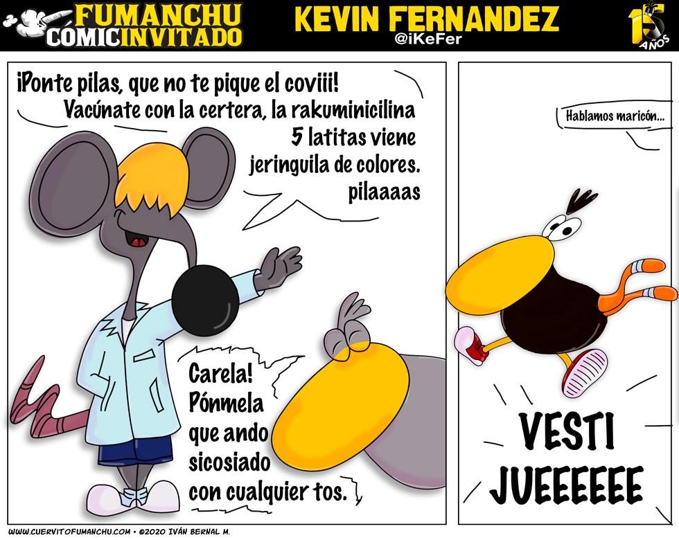 Cómic Invitado 2020: Kevín Fernandez