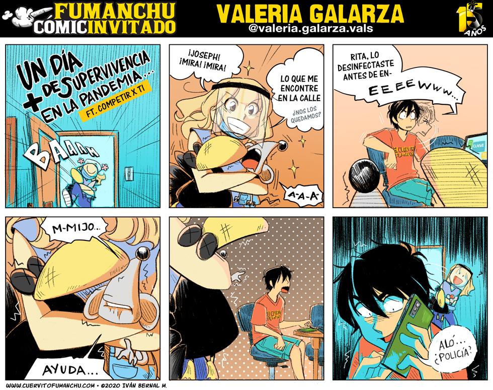 Cómic Invitado 2020: Valeria Galarza